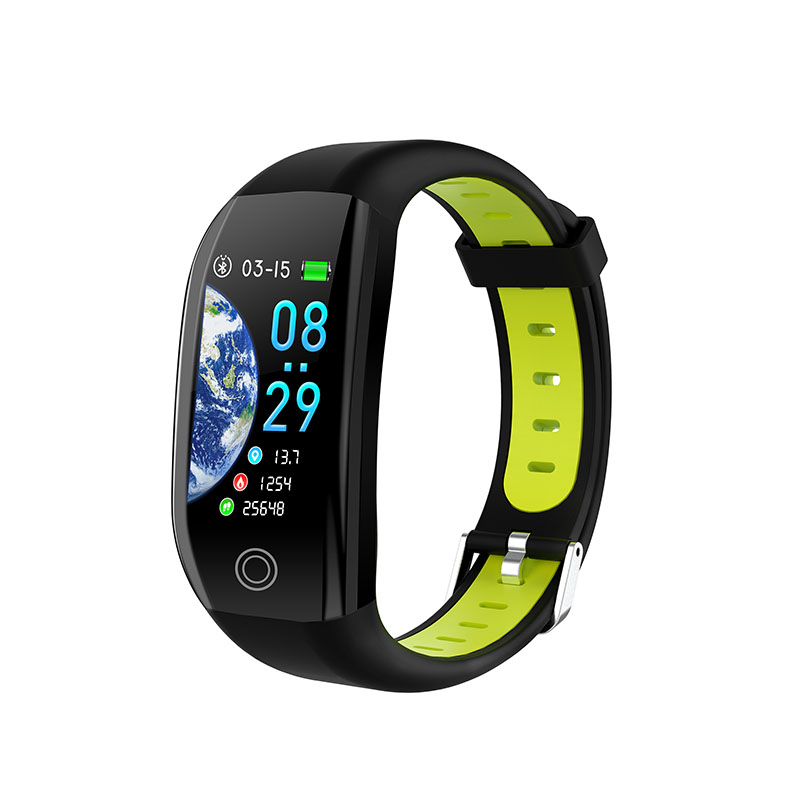Nouveau populaire 1.14 ''grand écran IP68 étanche bracelets intelligents fitness Tracker Bracelet Bracelet intelligent pour Android et IOS - 4