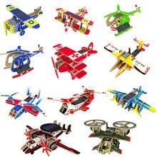 ROKR DIY Модель Самолета 3D Деревянный пазл сборка модели строительные наборы игрушки для детей день рождения подарок для дропшиппинг