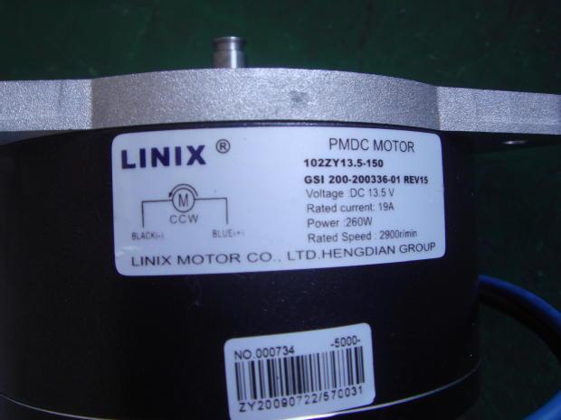 LINIX lien around the tube machine dedicated motor 102ZY13.5-150 new original 600v welding machine dedicated scr pwb200aa40 new original