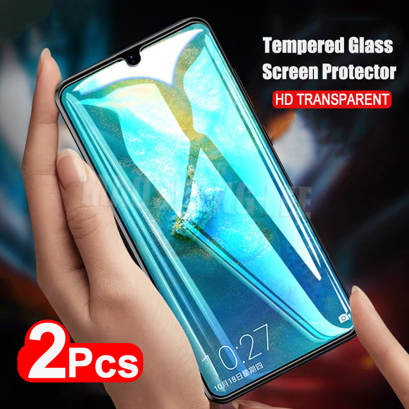 2Pcs/lot Full Tempered Glass For Huawei Mate 20 X Screen Protector Mate 20 Full Screen Cover Tempered Glass For Huawei Mate 20