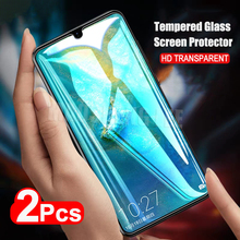 2 adet/grup tam temperli cam için Huawei Mate 20 X ekran koruyucu Mate 20 tam ekran koruyucu temperli cam için Huawei mate 20