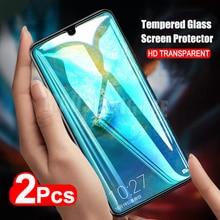2 sztuk/partia pełne szkło hartowane dla Huawei Mate 20 X Screen Protector Mate 20 pełna osłona ekranu szkło hartowane dla Huawei Mate 20