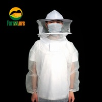 Anti Bee Suit Beekeeping Clothing Sleeve Head Bee Clothing Protective Clothing Beekeeping Tool