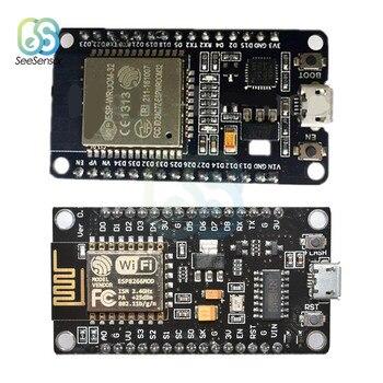 цена на NodeMCU V3 V2 ESP8266 Development Board Wireless Bluetooth WiFi Module Board Lolin32 CP2102 CH340 WeMos D1 MINI