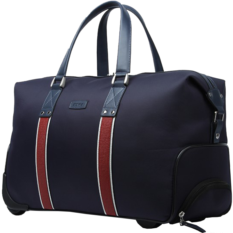 New Arrival Bopai High Quality Travel Bag On Wheels Trolley Rolling In Waterproof Fabric Uni Luggage Handbags Bags From