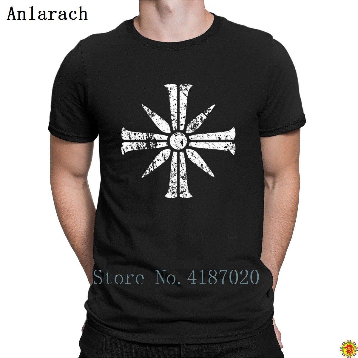 Croce Segno Da Far Cry 5 T-Shirt Idoneità 2018 Elegante Costruzione Tshirt For Men O-Collo Streetwear Tempo Libero Anlarach Personalizzato
