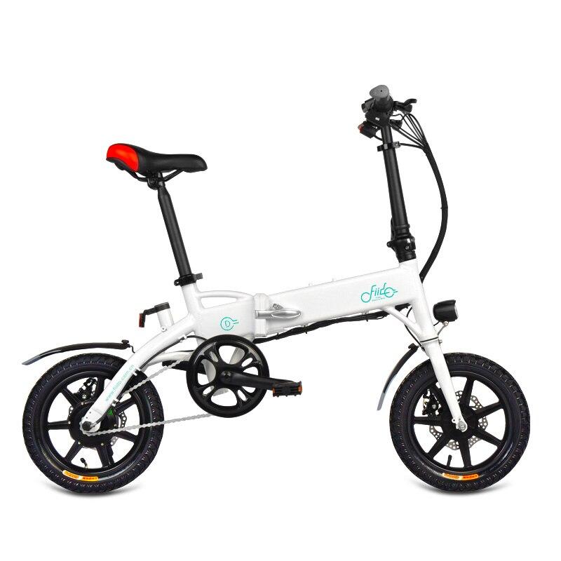 FIIDO D1 Mini Aluminum Alloy Smart Folding Electric Bicycle Bike Moped Bicycle EU PlugFIIDO D1 Mini Aluminum Alloy Smart Folding Electric Bicycle Bike Moped Bicycle EU Plug