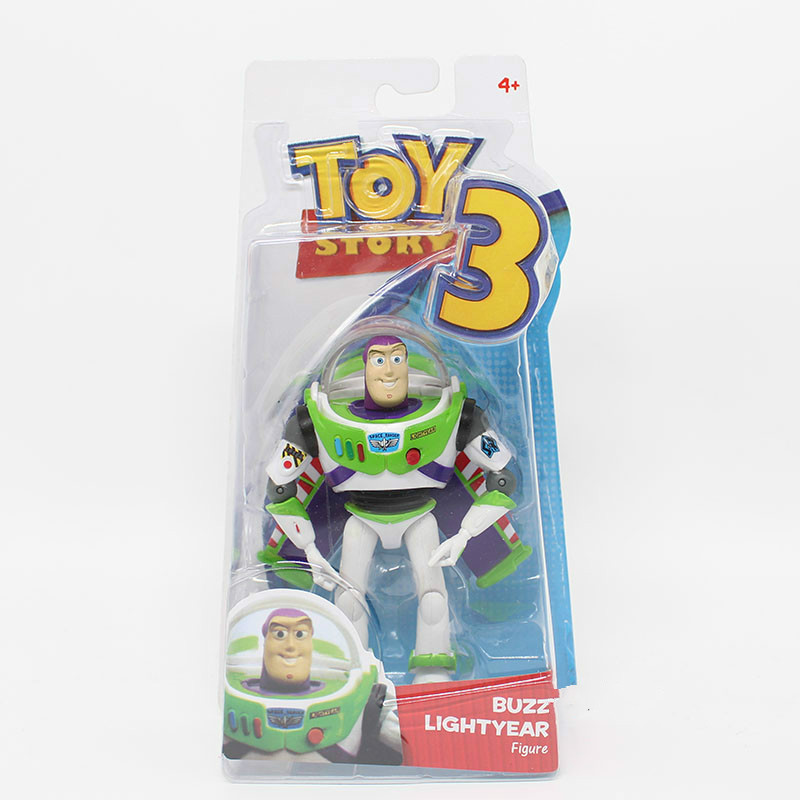 Anime Toy Story 3 Buzz Lightyear PVC Action Figure Collectible Model Toy Kids Gifts 14cm kung fu panda 3 po piggy bank pvc action figure collectible model toy kids gift 18cm