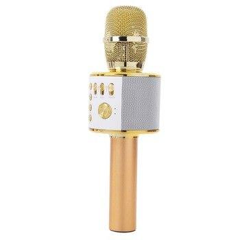 Professional Karaoke Microphone Handheld Bluetooth Wireless Karaoke Microphone Player MIC Speaker Record Music KTV Microphone