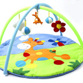Cartoon Deer Soft Game Play Gym Blanket Baby Toy Play Mats Indoor Portable Baby Kids Sports Crawling Pad