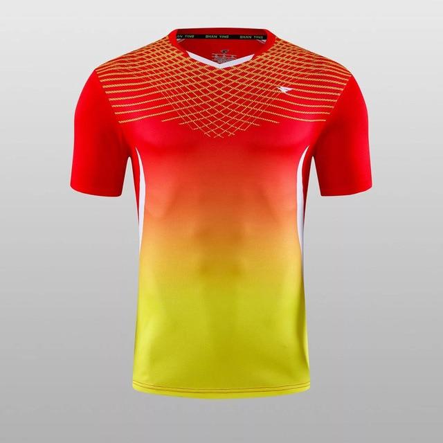 e7a31352e62181 2017 diseño de marca hombres deportes Running de manga corta Camisetas T  camisa los hombres Fitness