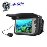 5 Color LCD Monitor Underwater Ice Video Fishing Camera System Rechargeable Visual Fish Finder With 25m