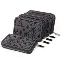 2018 Women Short clutch Luminous wallet Diamond lattice standard zipper wallets designer Noctilucent purse