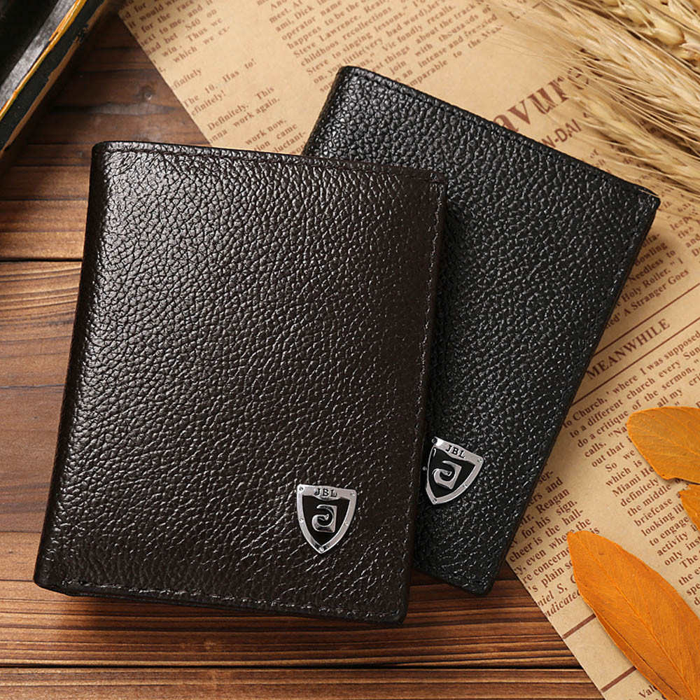 Men Wallet Leather Portfolio 2016 Famous Brand JINBAOLAI Designers Male Clutch Passcard Bag Money Pocket Large Capacity Purses