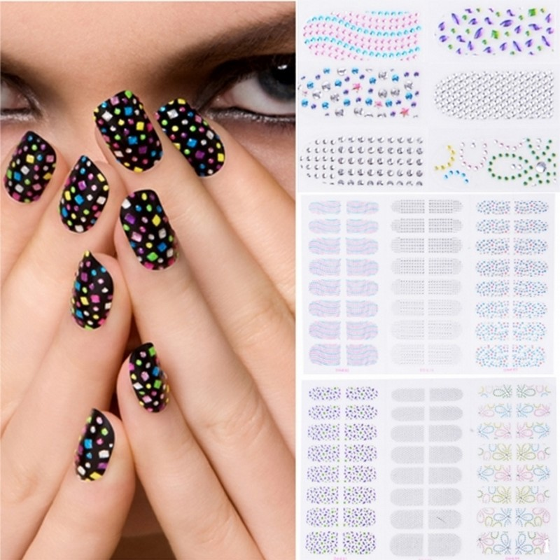 Whole Nail Art Water Decals From China