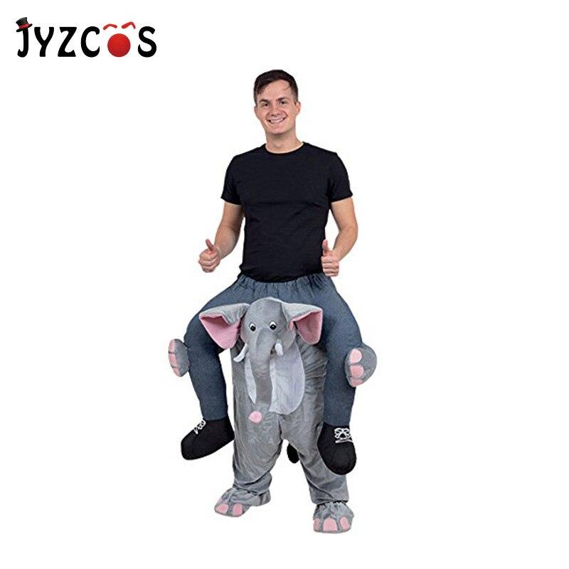 JYZCOS adulte monter sur éléphant Costume monter sur moi Cosplay Costume transporter nouveauté pantalons jouets pour pourim Halloween anniversaire