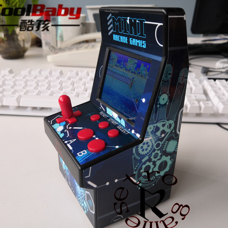 Mini Arcade Game Retro Machines for Kids with 220 Classic Handheld Video Games Portable Gaming System for Childrens Tiny Toys 01 image