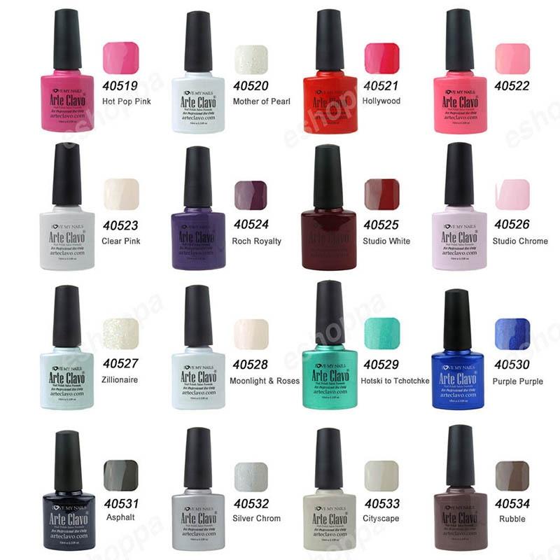 Harmony Choose 3 Colors Arte Clavo Nail Gel Polish Brands UV Color ...