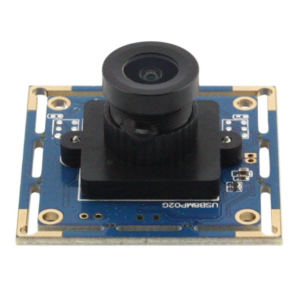 8MP Haute résolution Sony IMX179 2.1mm Grand Angle Lentille Industrielle USB Webcam Caméra Module MJPEG/YUY 2 Web Caméra HD pour PC