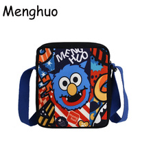 Menghuo Ins Super Popular Women Canvas Shoulder Bags Cute Small Mobile Phone for Girls Boys hip hop chic Hand Pouch Bolsos