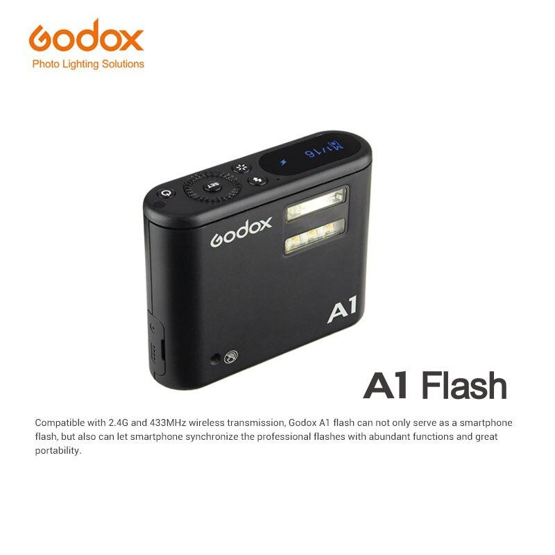 Godox A1 Flash Trigger font b Smartphone b font Flash System 2 4G Wireless Flash Constant