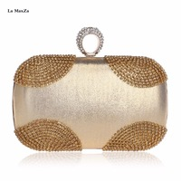 La MaxZa 2018 Fashion Party Banquet Bag Wholesale Women Minaudiere Clutch Bag Evening Clutches For Weddings Evening Bag