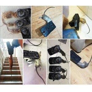 Image 3 - Piège réutilisable pour souris, piège à rats, piège à souris, piège en plastique pour tuer les rongeurs, 5 pièces