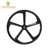 Fixed gear bike wheel Magnesium Alloy wheel 700C bike fixie Bicycle Mag TRI front rear wheel Mag Alloy Rims