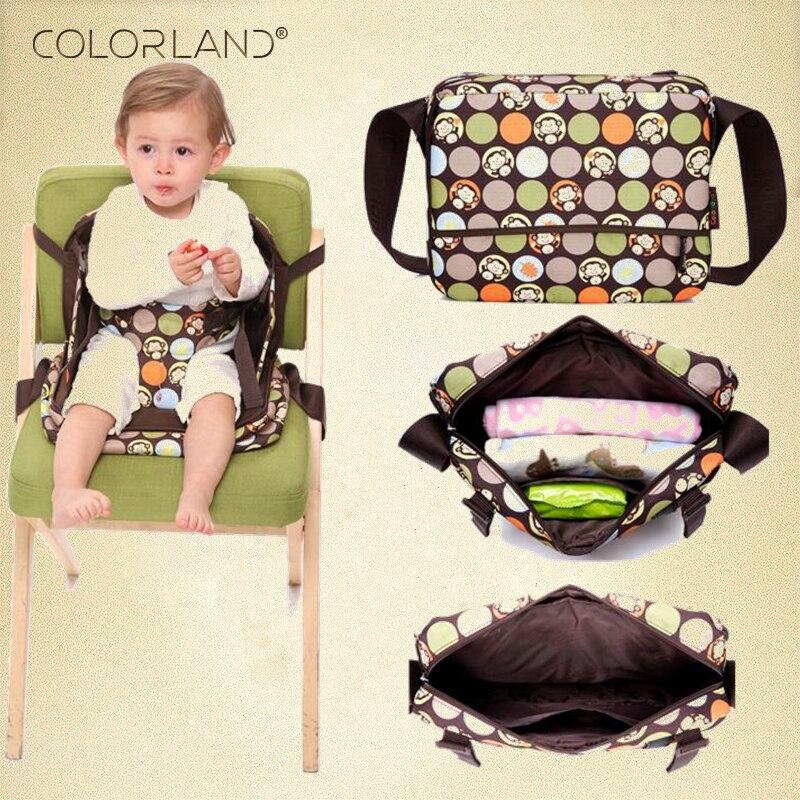 Organisateur 2 style en 1 Nappy sacs couche Dag Portable bébé rehausseurs sièges bébé chaise alimentation maman Sandalyesi maman maternité