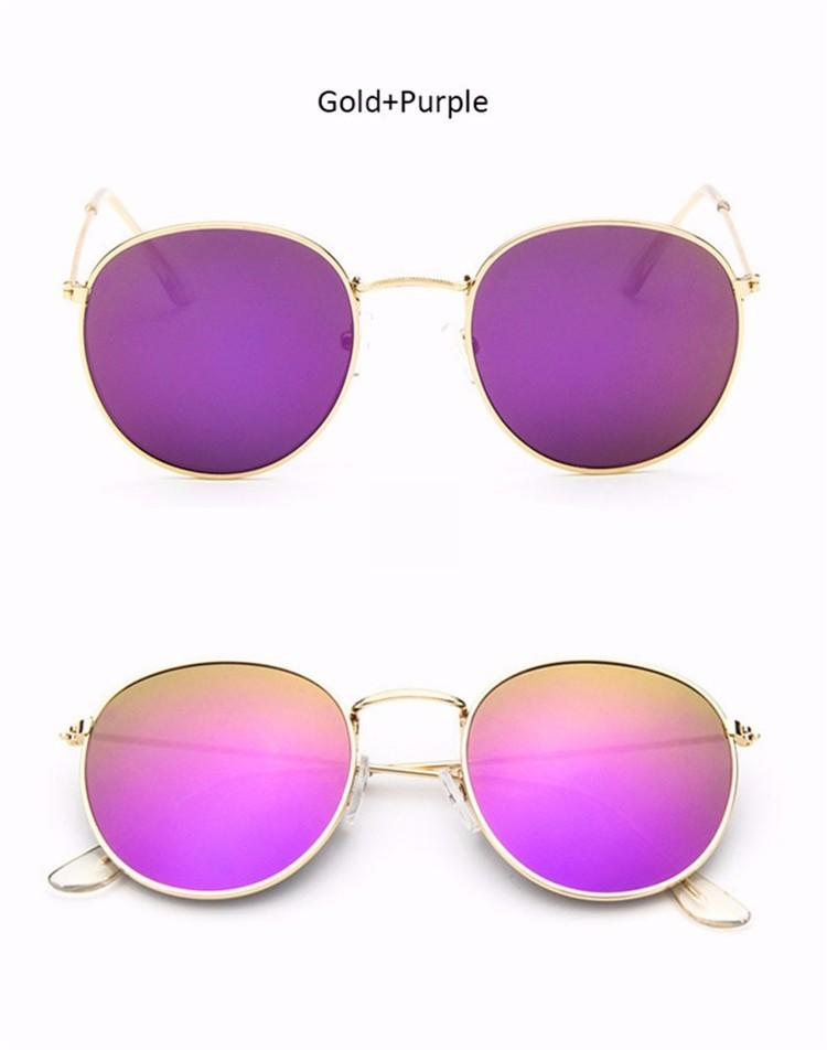 Vintage Round Mirror Sunglasses 13