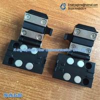 Cetc41 av6471 av6496a 섬유 융합 splicer 섬유 용접기 섬유 클램프/패치 코드/피그 테일 고정 장치/섬유 플레이트 1 쌍