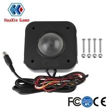 Освещенный см 4,5 светодио дный см круглый светодиодный трекбол мышь PS/2 PCB разъем для аркады