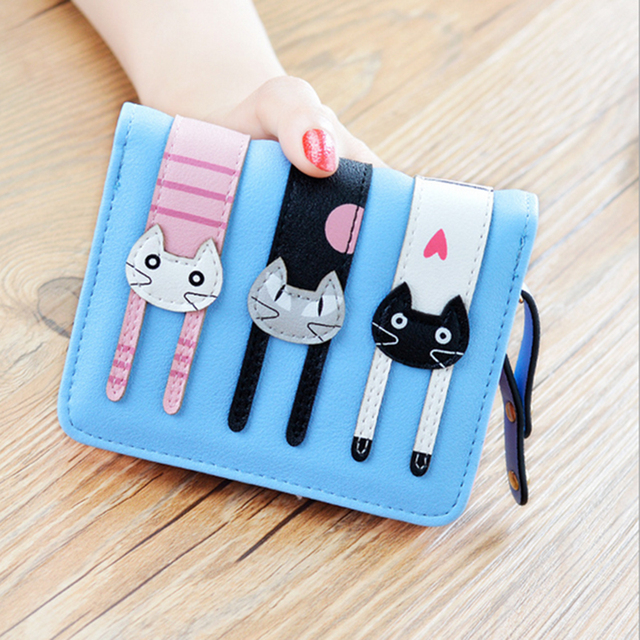 2017 Cute PU Leather Wallet