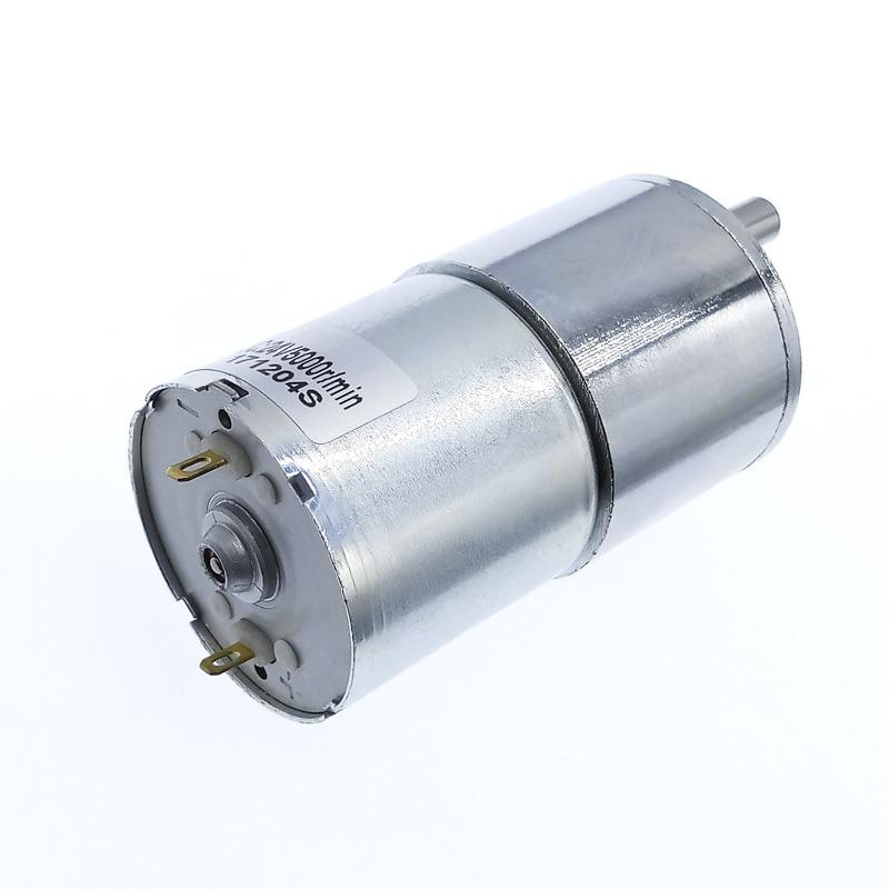 Купить с кэшбэком DC Motor 24v GB37RG 12v dc gear motor eccentric shaft 520 dc motor