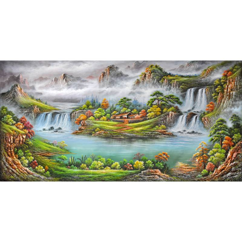 Popular big canvas painting buy cheap big canvas painting for Order cheap prints online