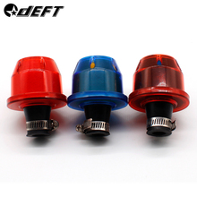 DEFT 10mm Air Filters Interface Motorcycle Auto Cold Mini Car Cone Intake Filter Turbo Vent Crankcase Breather