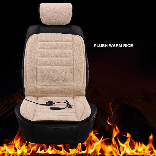 Heated Car Seat Cover Winter Cushion For Lada 2107 2110 2112 2114 2115 Granta Kalina Priora Vesta XRAY