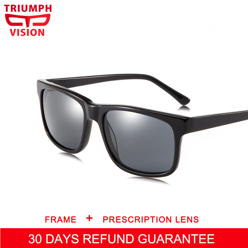 1d030c81de TRIUMPH VISION Progressive Glasses Prescription Sunglasses Men Myopia  Multifocal Reading Glasses Polarized Driver Eyeglasses