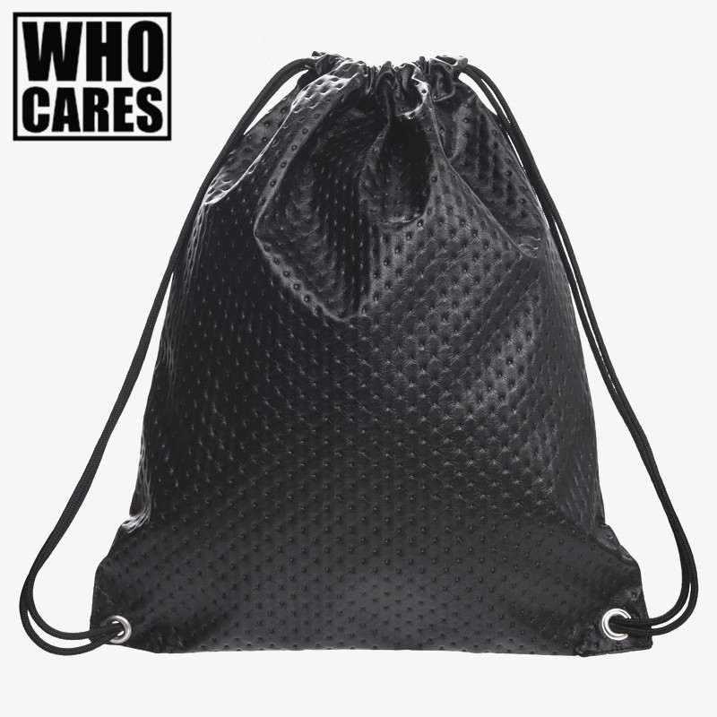 Black Polka Dot leather backpack women bags Travel drawstring bag 2016 Fashion New mochila feminina backpack men PU backpacks polygon wolf 3d printing fashion women party bolsa feminina drawstring bag travel backpack mochila man s bags