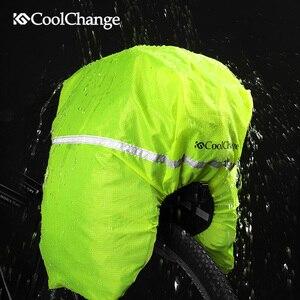 Image 3 - CoolChange su geçirmez bisiklet çantası 35L çok fonksiyonlu taşınabilir bisiklet arka koltuk kuyruk çantası bisiklet çantası omuz çantası aksesuarları