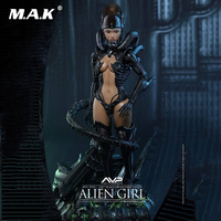 HAS002 Hot Angel Series 1:6 Alien Girl Full Set Female Alien vs Predator Action Figure Accessories Doll Model Toy for Collection