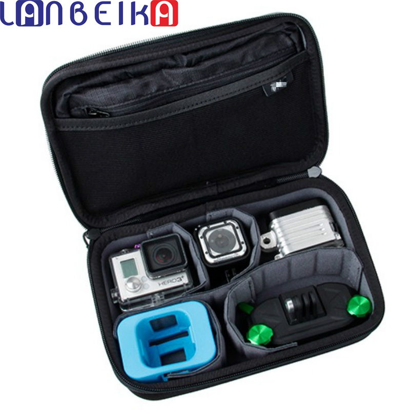LANBEIKA For Gopro Hero4 Session Casey storage bag Collection Box Case For Hero 6 5 5S 4 4S 3+ 3 SJCAM SJ4000 SJ5000 M20 SJ6 SJ7 lanbeika shockproof waterproof portable hard case box bag eva protection for sjcam m20 sj4000 sj5000 sj6 go pro hero 6 5 4 3