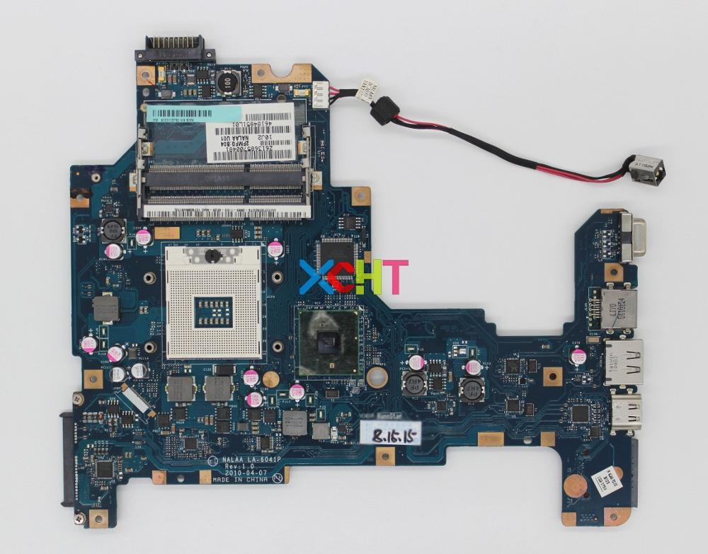 Para Toshiba Satellite L670 L675 K000103760 NALAA LA-6041P HM55 DDR3 Laptop Motherboard Testado & Funciona Perfeito
