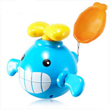 New Arrived Babies Cute Swimming Toy Paddle Small Whale Small Animal Bath Toy Classic and Cognitive Floating Toy