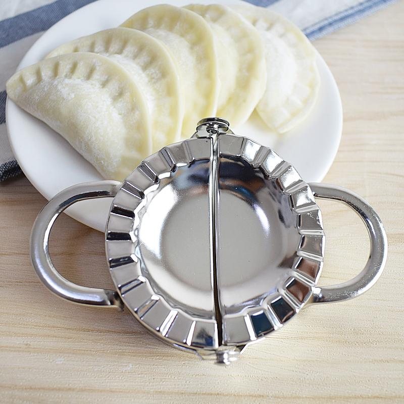 Stainless Steel Dumpling Maker Manual Dumpling Mold Dough Press Dumpling Empanada Maker Pastry Tools Kitchen Accessories (2)