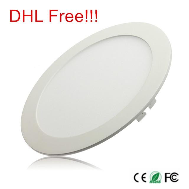 3W 4W 6W 9W 12W 15W 25W Ultra thin LED Panel Light Recessed LED Ceiling Downlight
