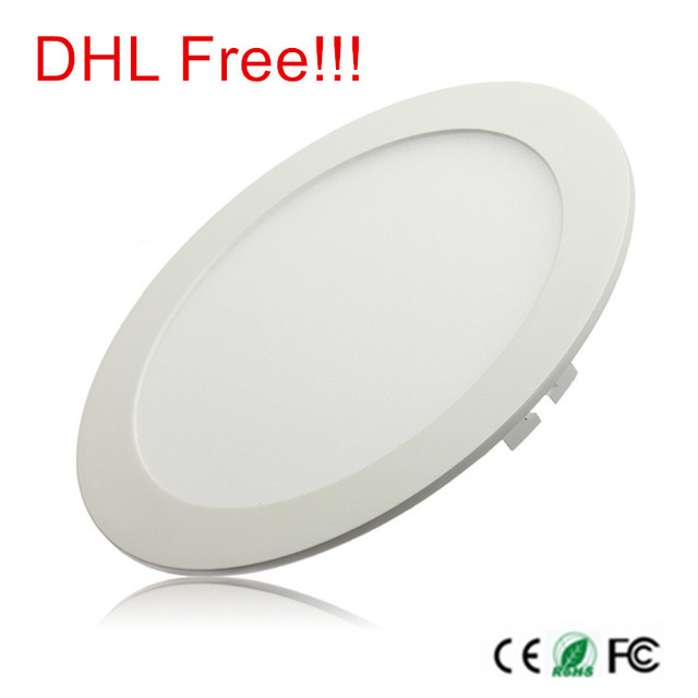 3W 4W 6W 9W 12W 15W 25W Ultra thin LED Panel Light Recessed LED Ceiling Downlight 85-265V Warm/Cold White indoor light,20 piece