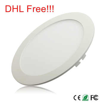 3W 4W 6W 9W 12W 15W 25W Ultra thin LED Panel Light Recessed LED Ceiling Downlight 85-265V Warm/Cold White indoor light,20 piece - DISCOUNT ITEM  23% OFF All Category