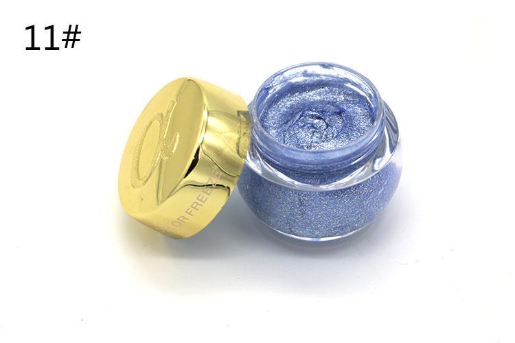 Love Alpha Single Color Eye Shadow Gel Eyes Makeup Glitter Nude Eyeshadow 16 Color EyeShadow Palette Shining Bright Brand Makeup (14)