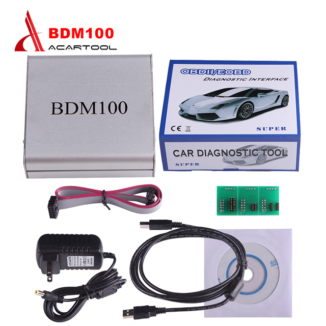USB BDM 100 V1255 OBD2 ECU Programmer BDM100 Code Reader Remapping ECU Chip Tuning Diagnostic Tool Drop Shipping Wholesale